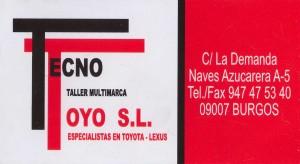 Tecno Toyo S.L.